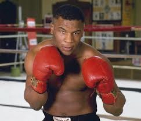Mike Tyson is a two time heavyweight champion of the world. The first time he won it he became the youngest heavyweight champion ever at the age of 20.