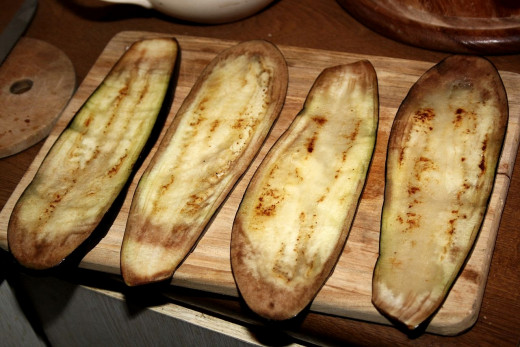 Grilled eggplants are the base of many fabulous dishes. See the recipes here.