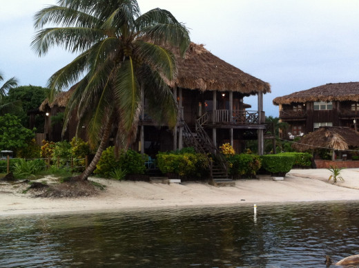 My cabin on the beach