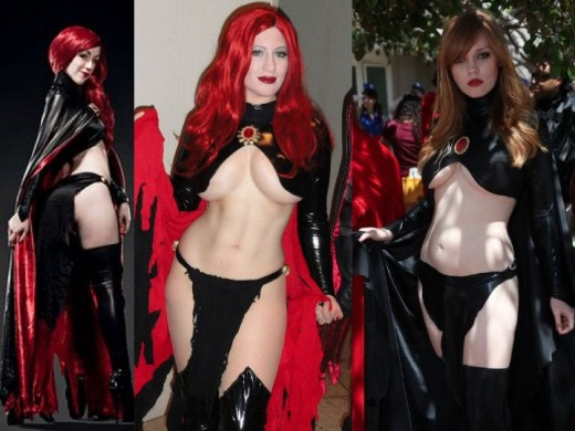 Madelyne Pryor Goblin Queen Cosplay Costume