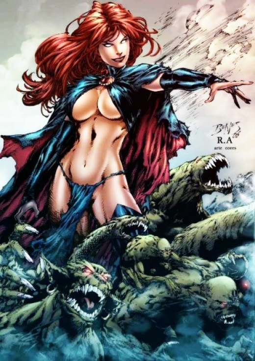 Madelyne Pryor as the Goblin Queen