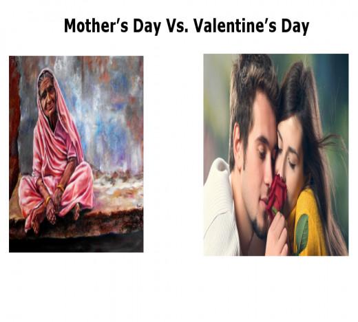 Mother's Day Vs. Valentine's Day