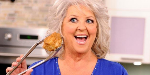 We'll pass on the fried chicken this time, Paula. And the racial slurs.