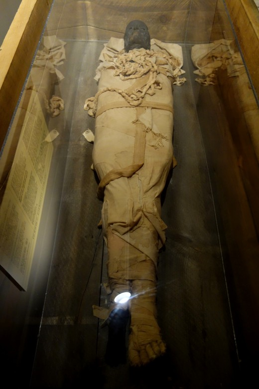 Egyptian Mummy composite, c.1500 BC - Fitchburg Art Museum