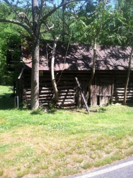 Mose Bradley's barn