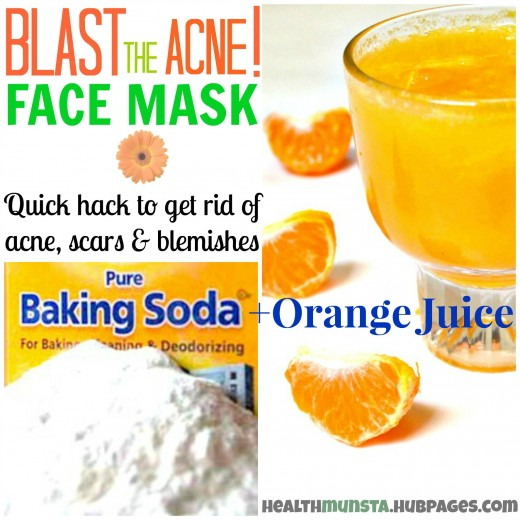 How to get rid of acne scars mask