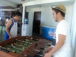 Playing at Al Fresco Bar