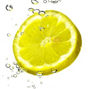 taste the lemon juice