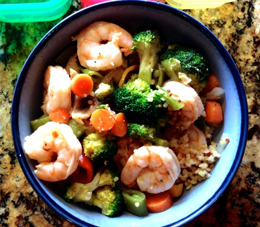Stir fry is a great way to incorporate varied nutrients into one delicious bowl.