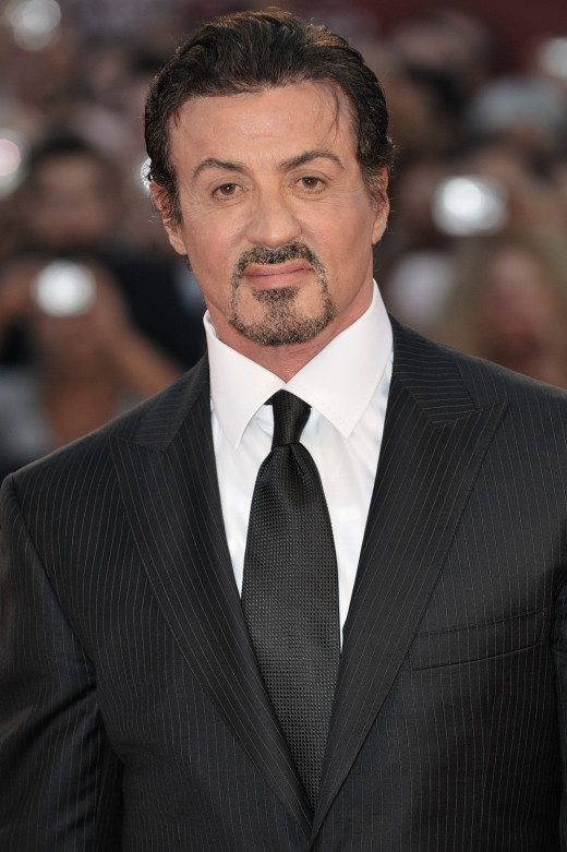 Sylvester Stallone's purpose in life was to act.