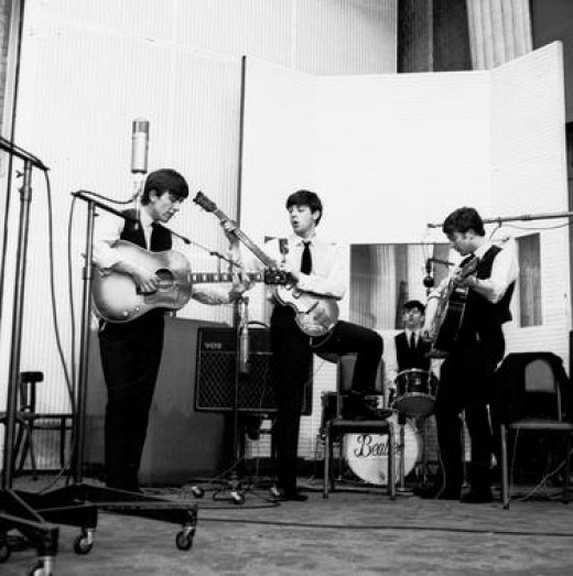 1962-the first time in a studio
