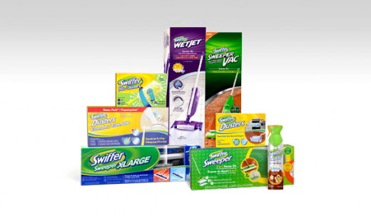 There is a host of products made for ease of use and thorough cleaning in the Swiffer product range.