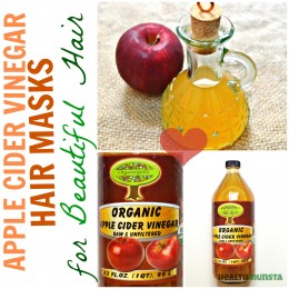My sister & I have gorgeous locks of hair and let me give away the secret - it's apple cider vinegar! Check out these true ACV hair masks that will leave your hair feeling loved.