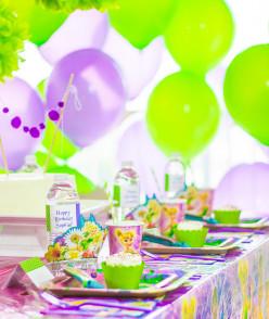 Tinkerbell Fairy Birthday Party Ideas