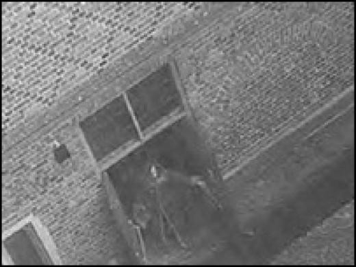 Hampton Court CCTV captures an image of a spectre?.
