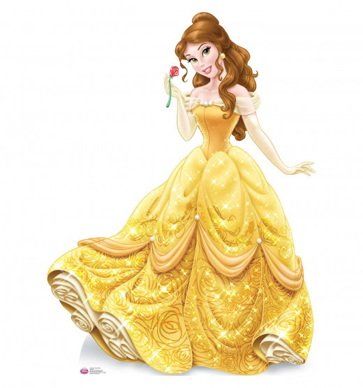 Belle Royal Debut - Disney - Lifesize Cardboard Cutout