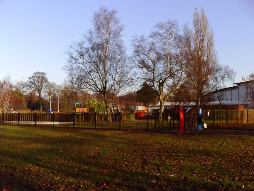 West Park - Wide view of the park.