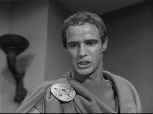 Brando as Mark Antony