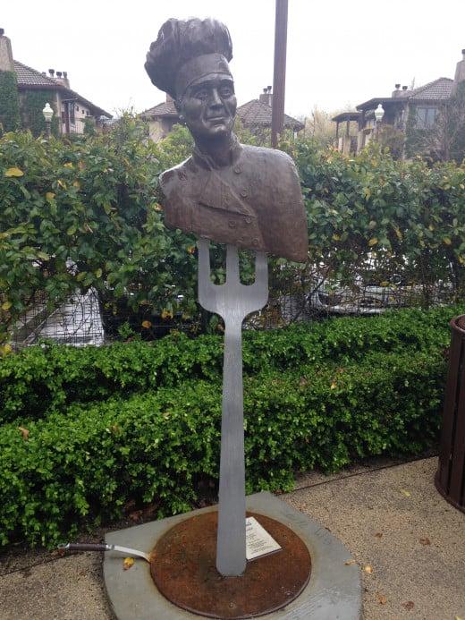The Yountville Art Walk displays over 30 pieces of outdoor sculpture.