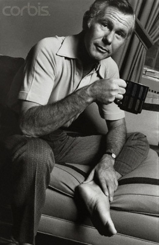 """Johnny Carson, """"The King,"""" Of Late Night. The Most-Favorite of 10 Talk Show Hosts"""