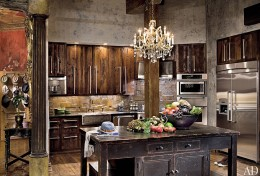 Gerard Butler's Kitchen