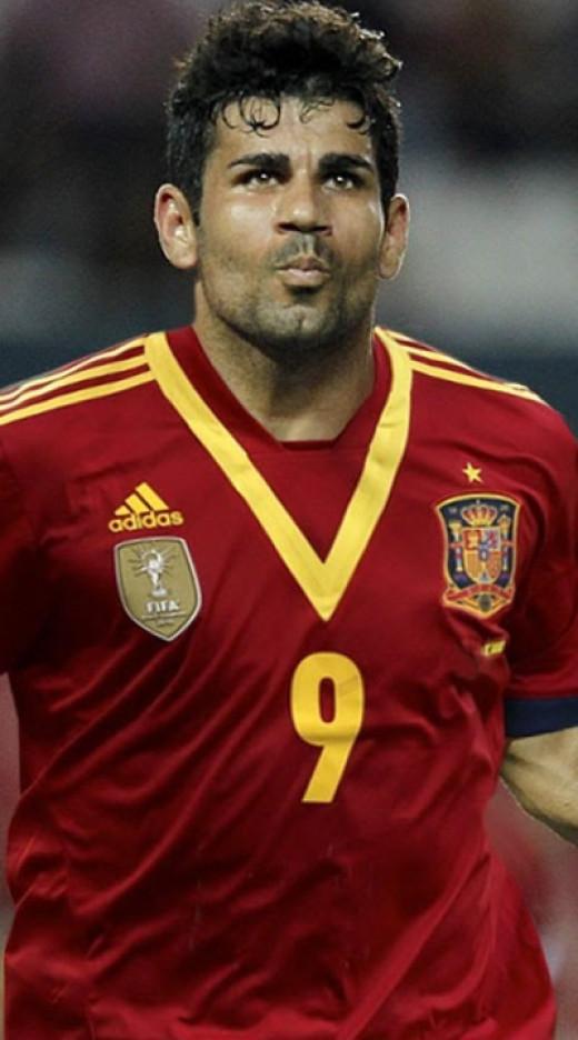 Spain's New Recruit Diego Costa