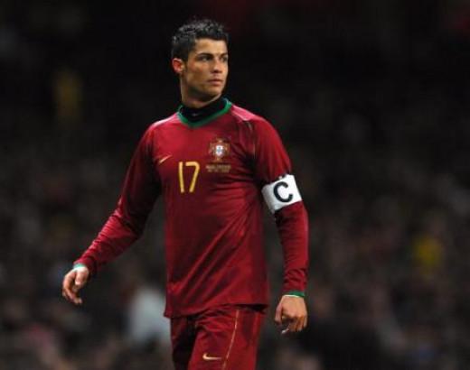 Ronaldo Captaining Portugal