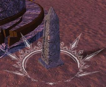 Player's Tombstone in Vanguard.