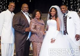 Sarah Jakes on her wedding day.