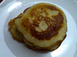 Vegetarian Breakfast: Eggless Pancake
