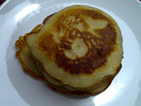Eggless Pancake for breakfast