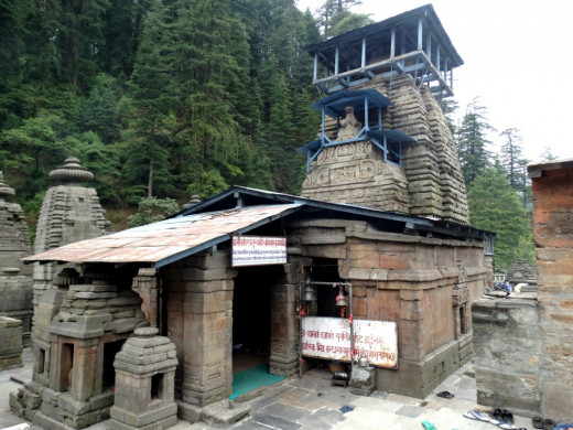 Temple of Maha Mrityunjoy Shiva at Jageswar temple complex