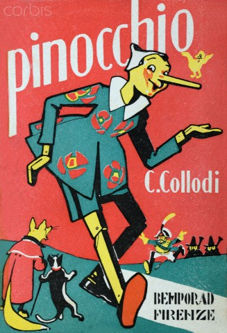 Pinocchio, when he lied, his nose grew