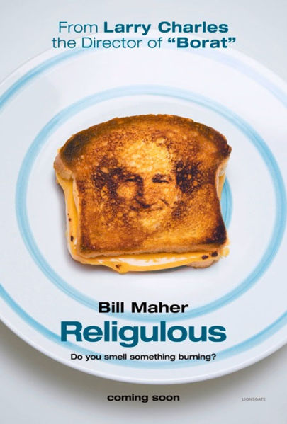Bill Maher explores why so many people would love a God who is as affectionate as he is vengeful.
