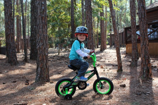If you'll be spending an afternoon or more at the Resort, bikes are a must for the little guys.