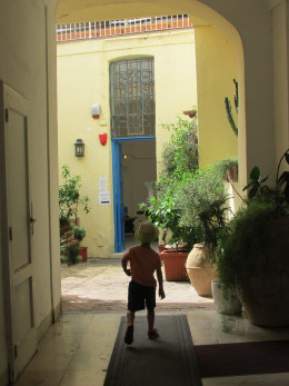 Exploring Capri Town, led by a five-year-old guide!