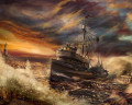 The Storm at Sea - A Sea Shanty