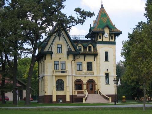 Beautiful old house at Palic Lake