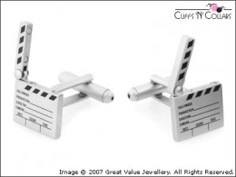 Cuff Links For the Movie Maker