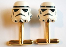 Storm Troopers Cuff Links - Feel the Force!