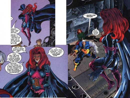 Madelyne Pryor Purple Costume