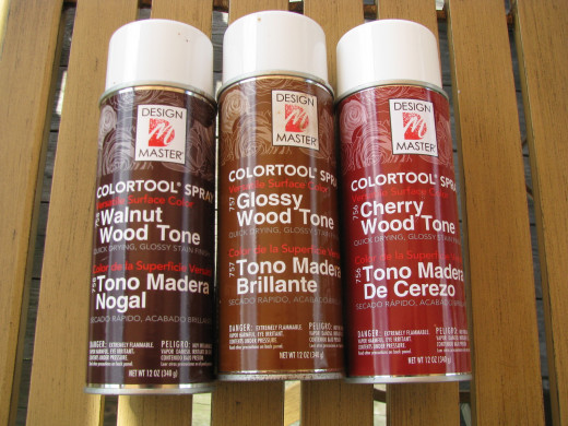 These are the only paints I have found that bond to the glue perfectly to create that glossy effect. It can be purchased at Michaels Arts & Crafts.