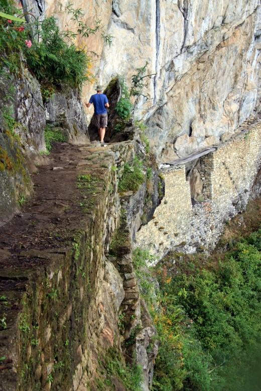 Inca Trail hiker