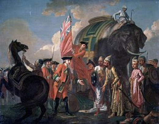 Robert Clive Meeting the Nawab