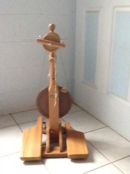 My wife's 'Little Gem' Majacraft spinning wheel.
