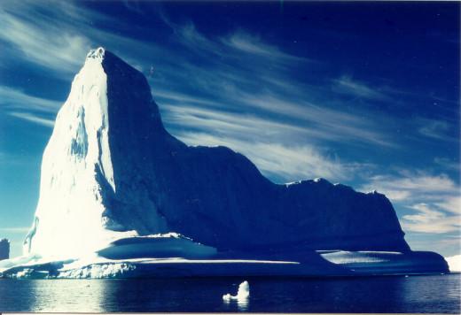 An iceberg west of Ilulissat inlet, Greenland