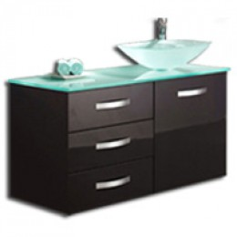 Modernize Your Home Design with Glass Bathroom Vanities