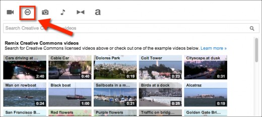 Creative Commons videos are free to edit, remix and use as you please