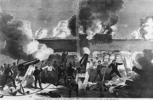 Battle of Fort Sumter, the war's beginnings.