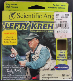 Review of Scientific Angler's Lefty Krey Weight Forward Fly Line